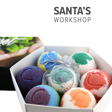 Santa's Workshop (Holiday Stressless Gift Set)