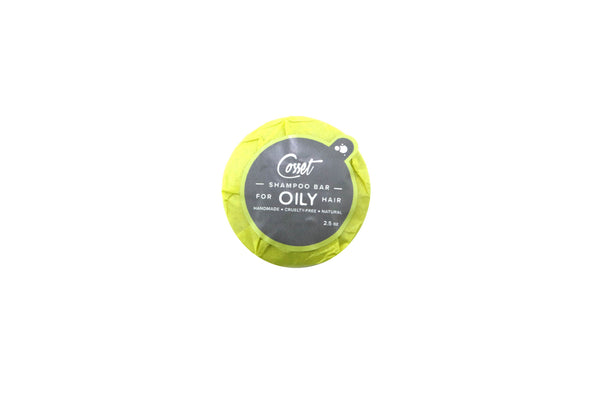 Oily Hair (Solid Shampoo)
