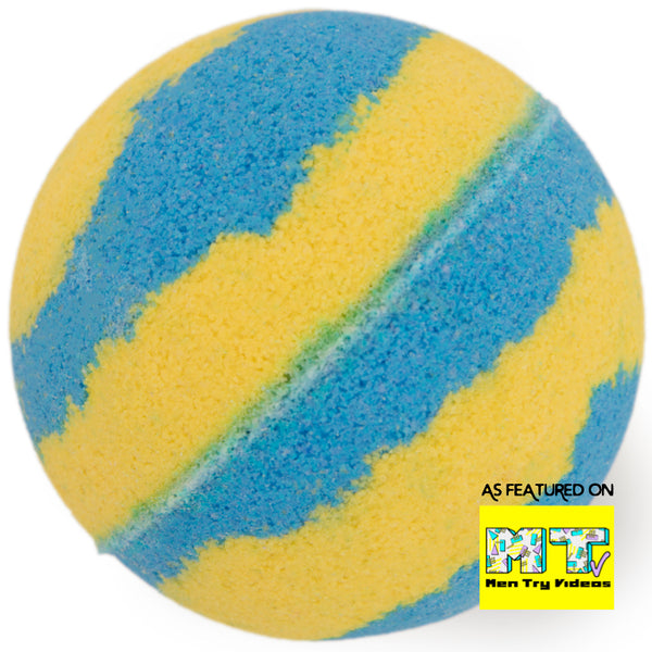 Suds Of Fun Bubble Bath Therapy Bomb Bath Bomb as seen on Men Try Videos