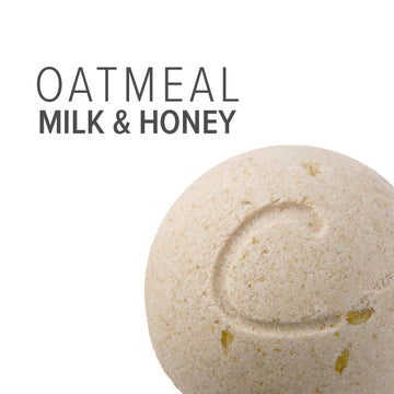 Cleopatra Therapy Bomb (Soothing Oatmeal, Milk & Honey Bath)