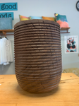 Bearded Black Walnut Vase by Greg Thomas