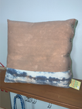 Hooray Designs Hand Dyed and Woven Pillow