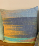 Hooray Designs Hand Woven and Dyed Pillow