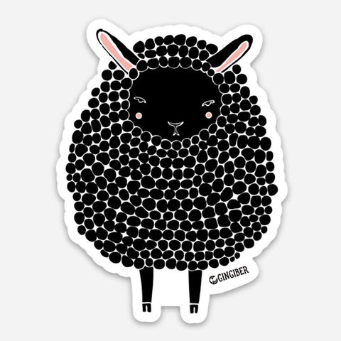 Gingiber Sheep Sticker