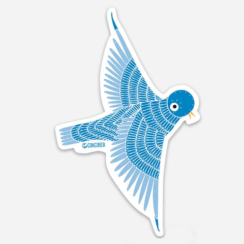Gingiber Bird Sticker