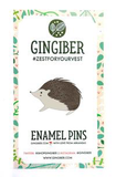 Gingiber Bramble Hedgehog Enamel Pin