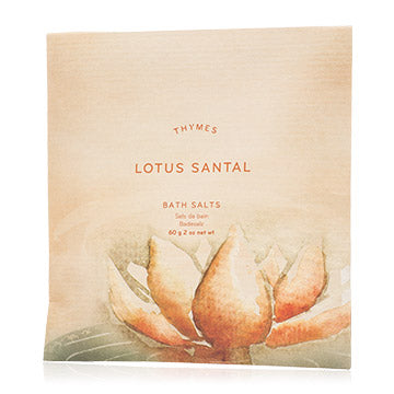 Thymes Lotus Santal Bath Salts