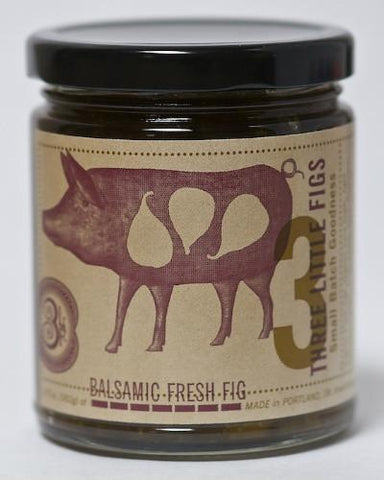 Three Little Figs Balsamic Fresh Fig Jam
