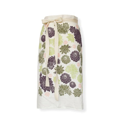 June & December Succulent Bistro Apron