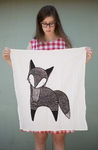 Gingiber Fox Tea Towel