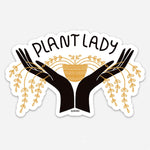 Gingiber Plant Lady Sticker