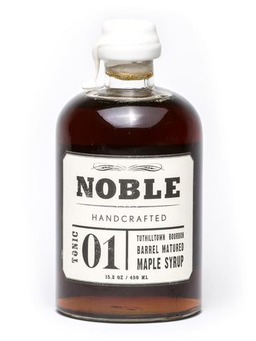 Noble Bourbon Barrel Matured Maple Syrup