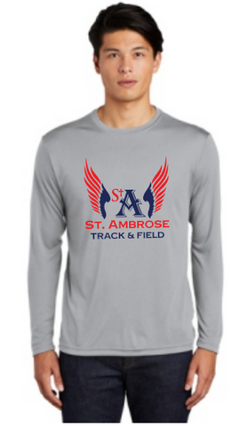 St. Ambrose Track Long Sleeve Dri Fit