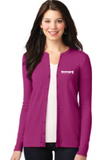 Beverage Women's Stretch Button-Front Cardigan