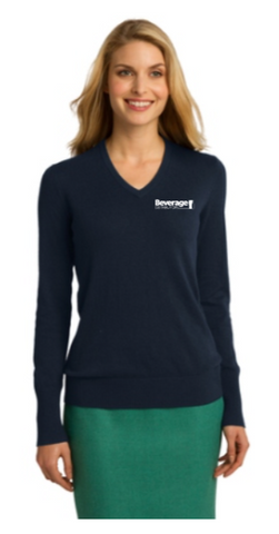 Beverage Women's V-Neck Sweater
