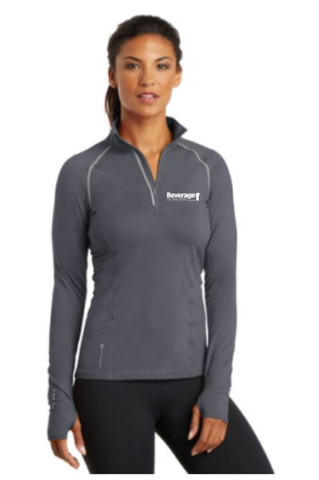 Beverage Women's 1/4 Zip Pullover