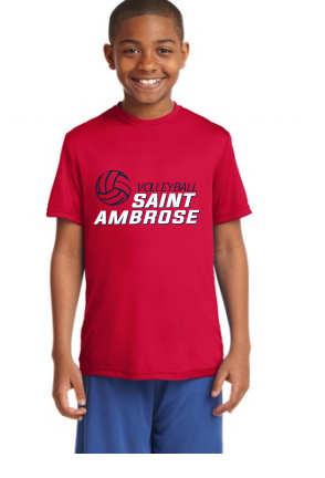 St. Ambrose Volleyball Tee