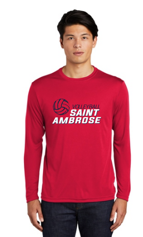 St. Ambrose Volleyball Longsleeve Dri Fit