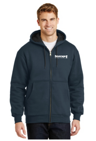 Beverage Uniform Heavyweight Full-Zip Hooded Sweatshirt CS620