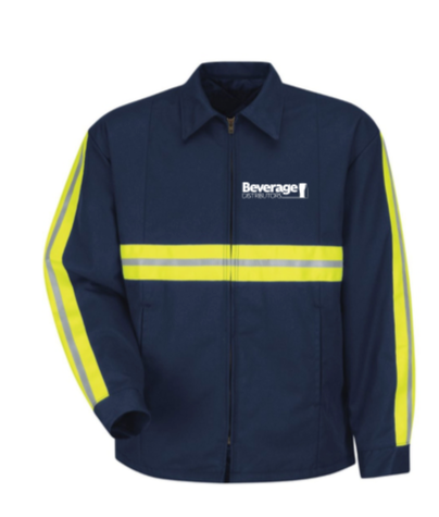 Beverage Uniform Enhanced Visibility Panel Jacket JT50EN