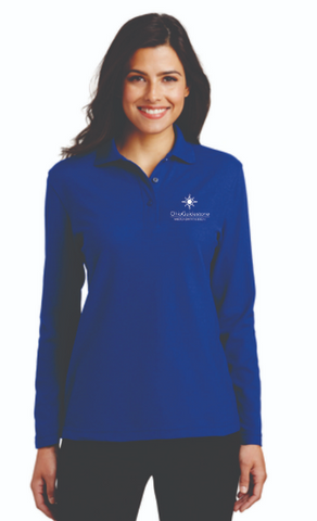 OhioGuidestone Residential Uniform Managers Ladies Long Sleeve Polo