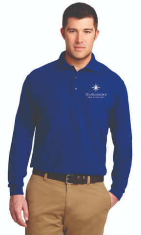 OhioGuidestone Residential Uniform Managers Long Sleeve Polo