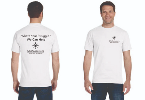"OhioGuidestone ""Whats Your Struggle?"" Tee"