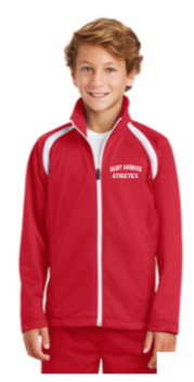 St. Ambrose Zip Up Jacket