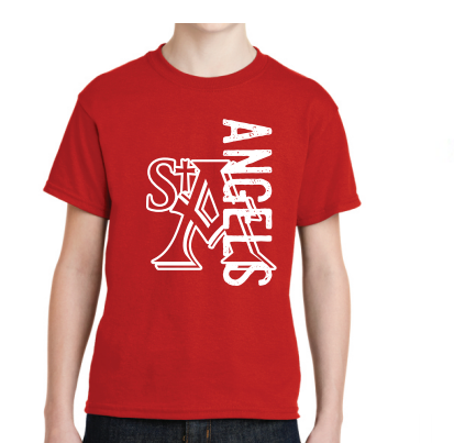 St. Ambrose Spirit Wear Angels Tee