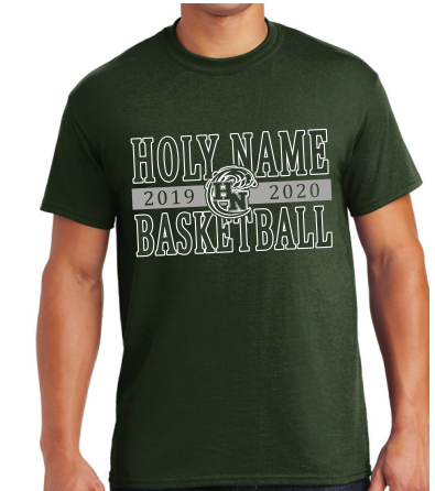 Holy Name Basketball 2020 Forest Green