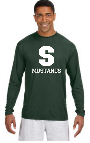 Strongsville Track Long Sleeve Dri Fit Tee