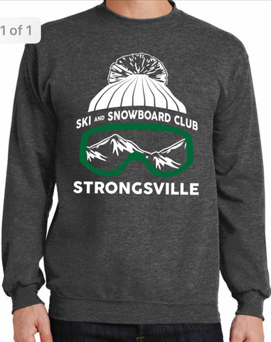 Strongsville Ski Club Crew Neck Sweatshirt