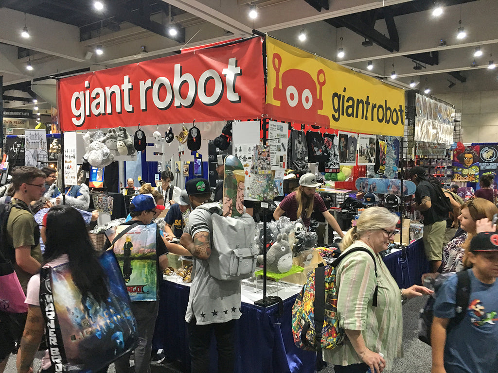 Giant Robot at SDCC 2017