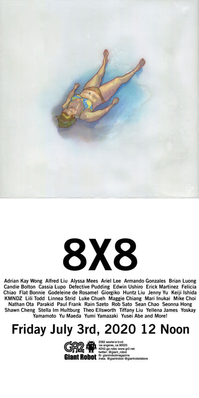 8x8 Begins July 3rd FRIDAY! 12 Noon