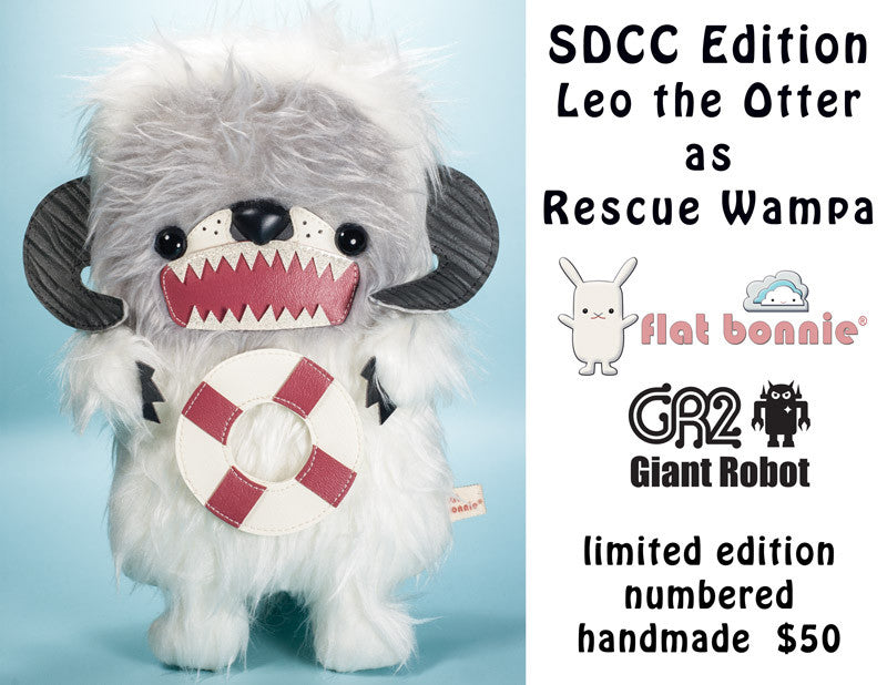 SDCC Exclusives - FLAT BONNIE - Rescue Wampa!