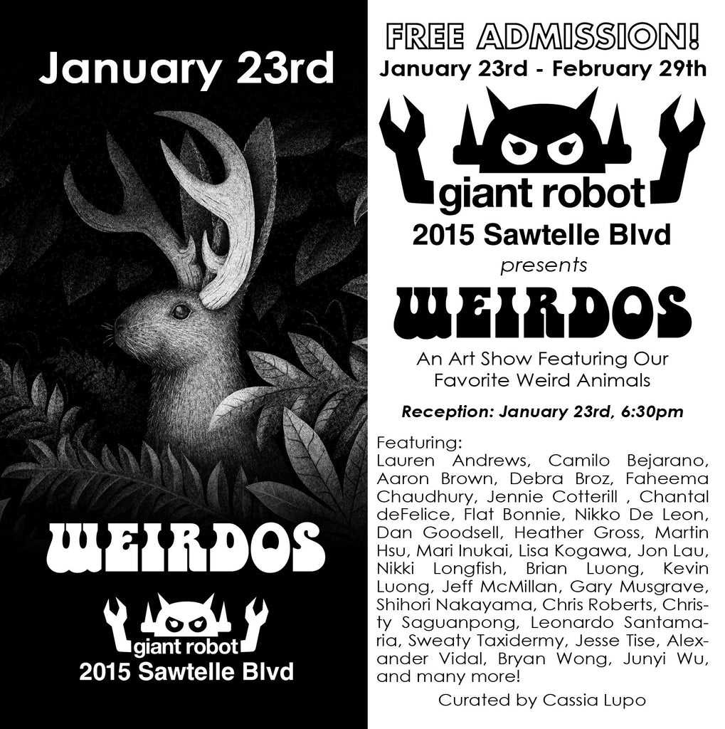 Giant Robot Store Presents: WEIRDOS