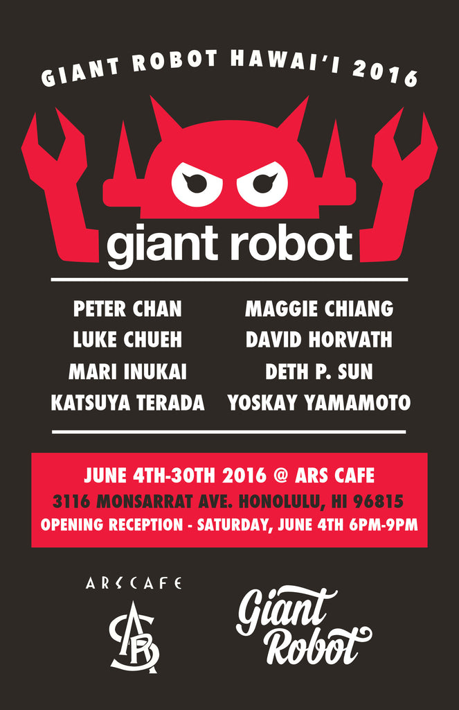Ars Cafe + Pioneer Saloon: GR Hawaii 2016 with Luke Chueh - SAT and SUN June 4 and 5