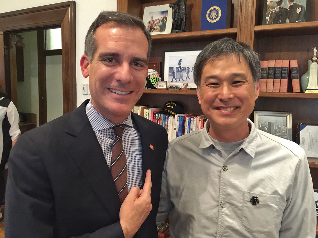 Mayor Eric Garcetti Asian American Roundtable