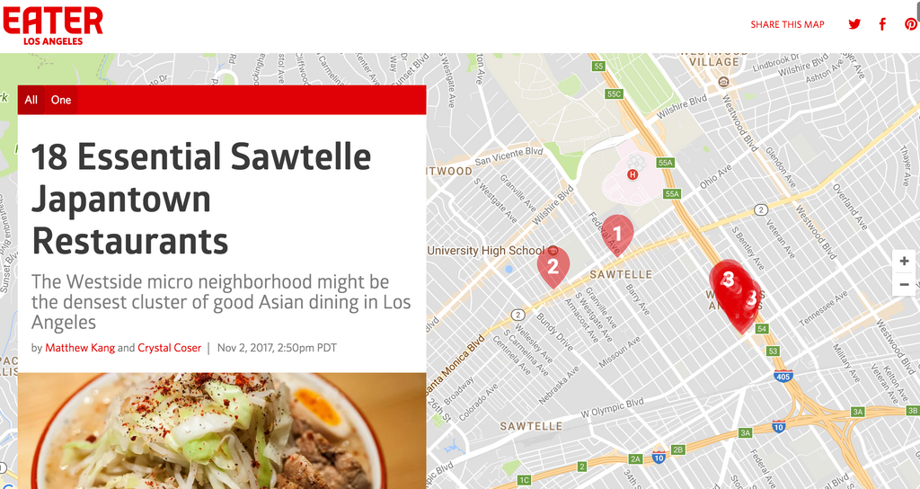 18 Essential Sawtelle Japantown Restaurants by Eater LA - and 12 More by Me