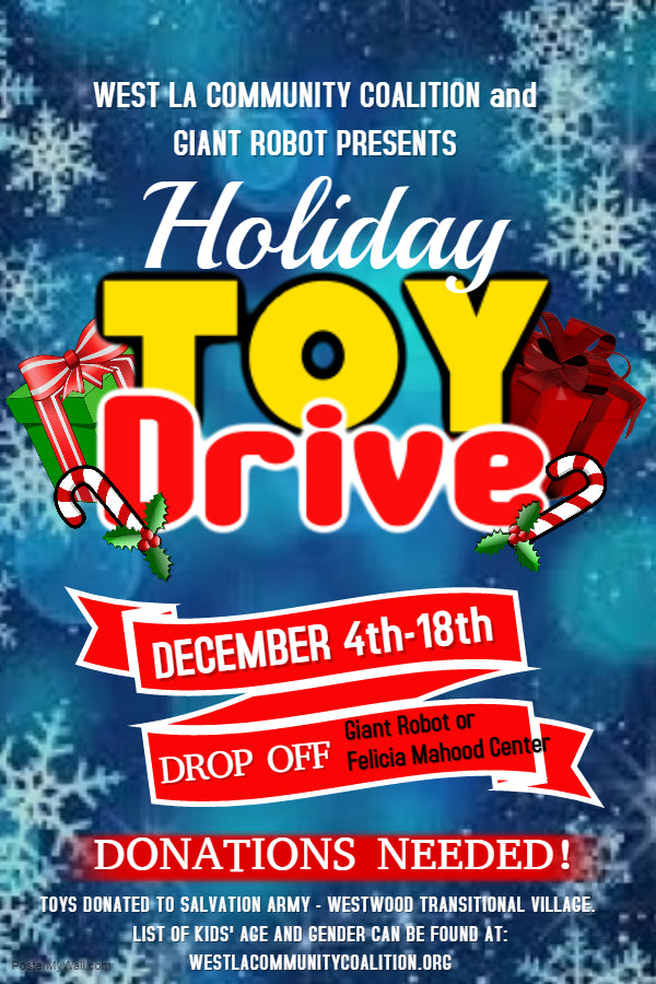 Holiday Toy Drive at GR and GR2