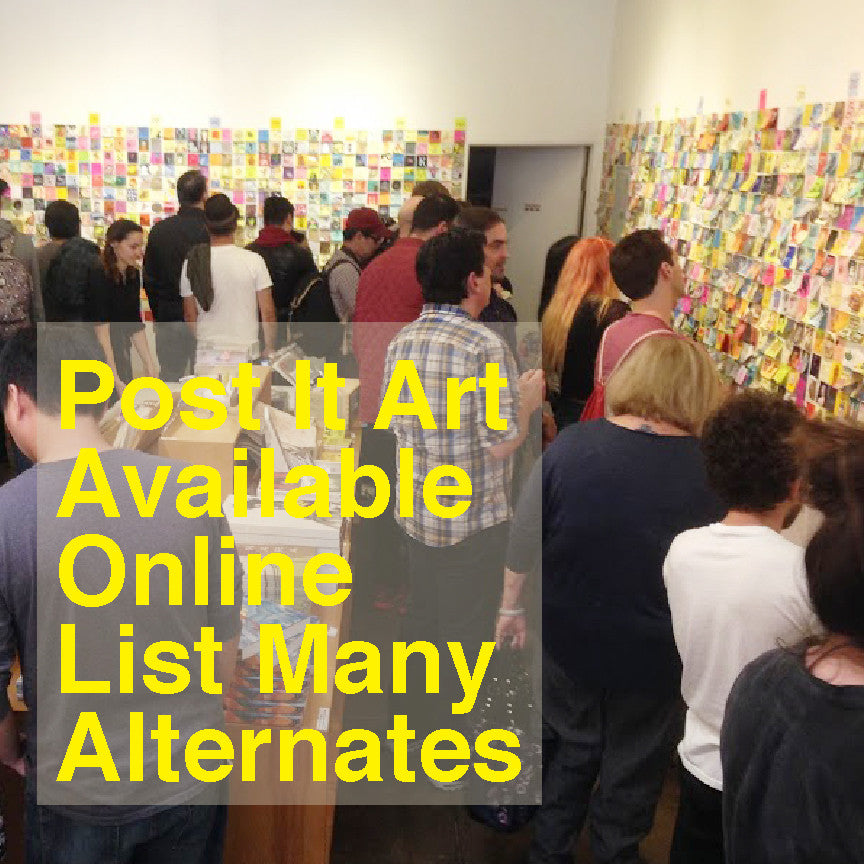 Post It Art Available Online