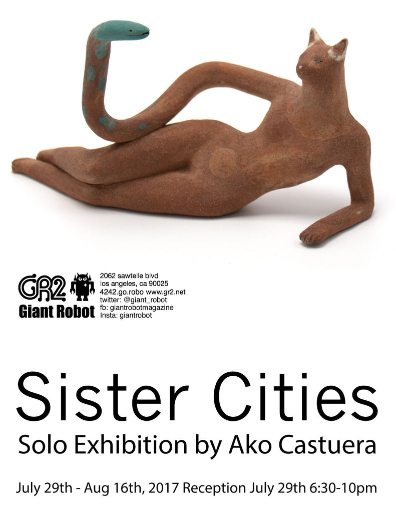 Ako Castuera Solo Exhibition at GR2 Sat July 29, 2017