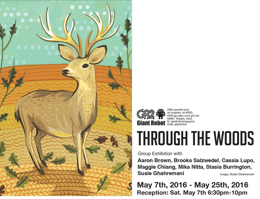 GR2: Through the Woods - Aaron Brown, Brooks Salzwedel, Cassia Lupo, Maggie Chiang, Mika Nitta, Stasia Burrington, Susie Ghahremani