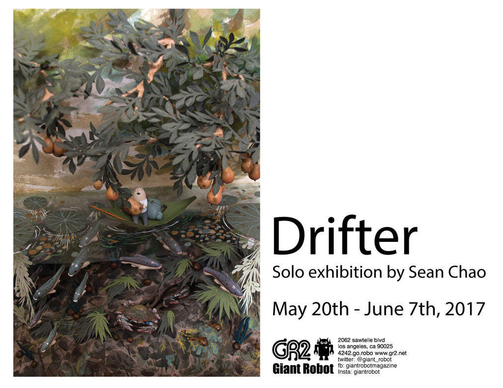 Drifter - Solo Exhibition by Sean Chao