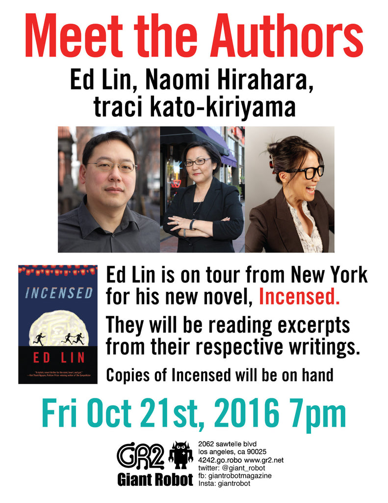 Meet Authors Ed Lin and Special Guests Fri Oct 21 - 7pm