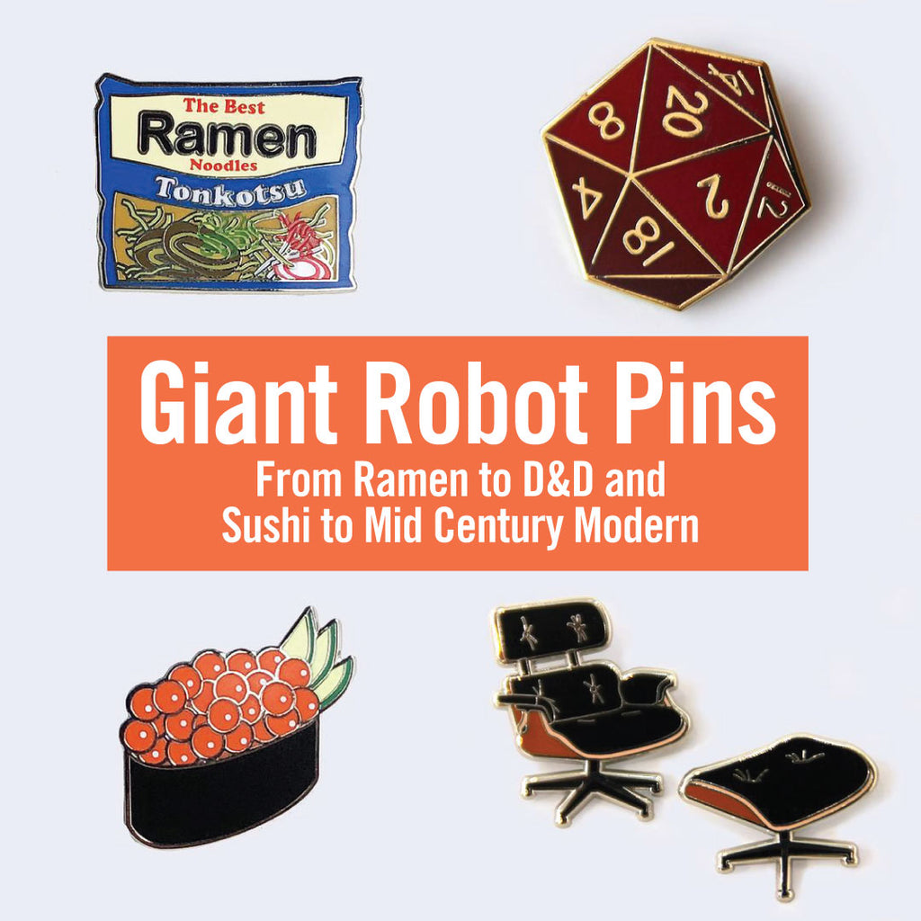 Giant Robot Store Selections - Online and Brick and Mortar Click to See the Collections