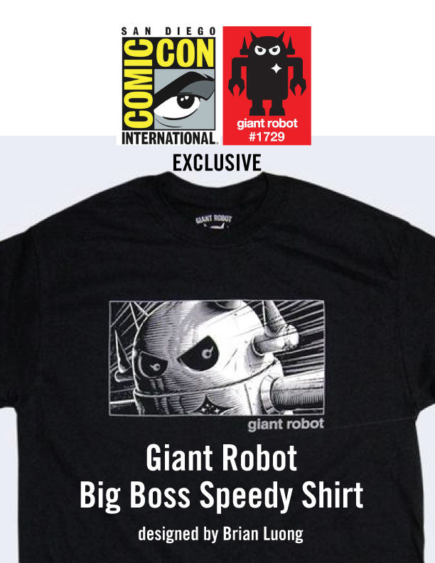 GR X SDCC 2017 Big Boss Speedy Shirt