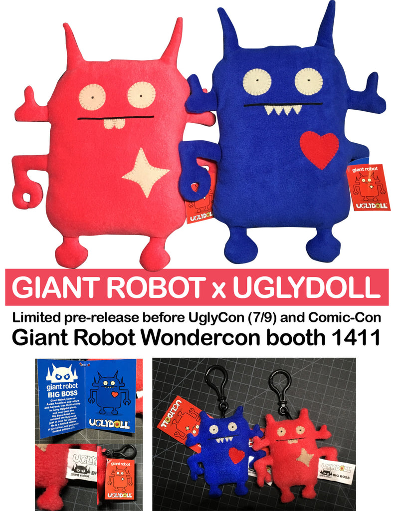 Giant Robot X Uglydoll pre-release at WonderCon!