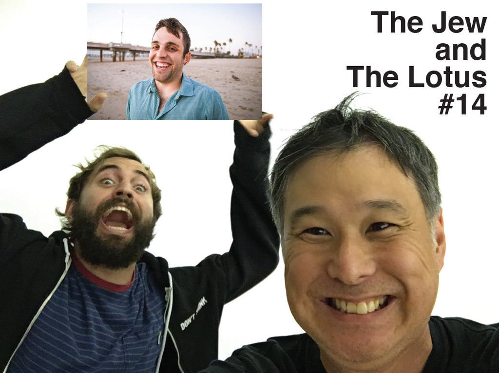 The Jew and The Lotus Podcast Episode 14 Special Guest Cuddle Therapist Travis A.