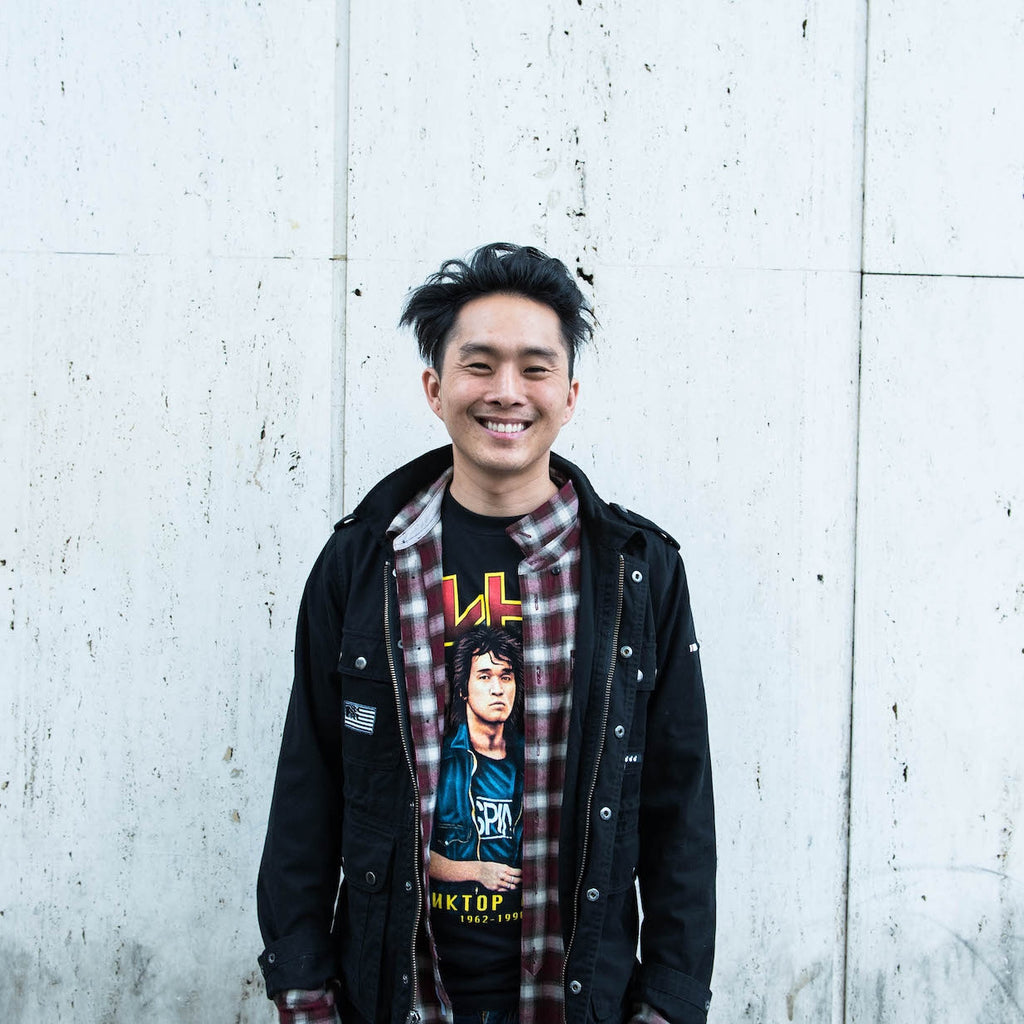 Justin Chon Interview at Giant Robot Media